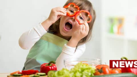 Eating Fruits And Vegetables Is Linked To Better Mental Health In Children, Study Says