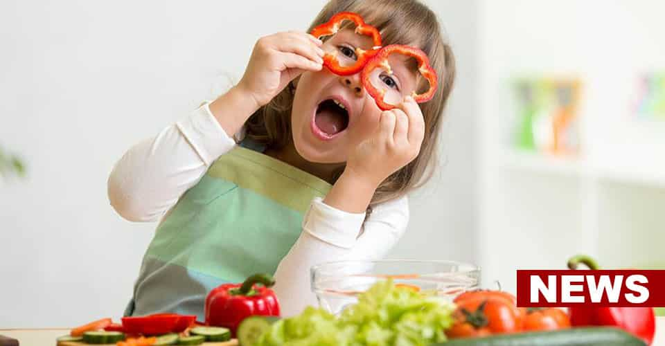 Eating Fruits And Vegetables Is Linked To Better Mental Health In Children